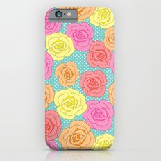 Spotty Rose Slim Case iPhone 6s