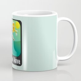 New wave - Bitcoin Coffee Mug