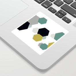 Geometric Shapes. Sticker