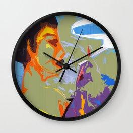 Smoke Break I Wall Clock