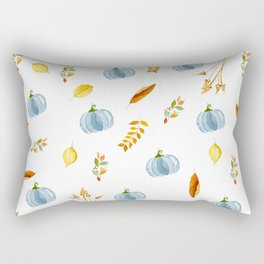 My Blue Pumpkin Rectangular Pillow