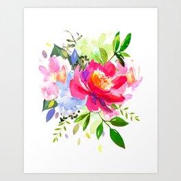 watercolor flower art prints society6
