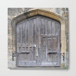 Oxford door 13 Metal Print