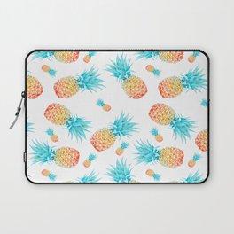 Tropical Fruit Pineapple Pattern Laptop Sleeve