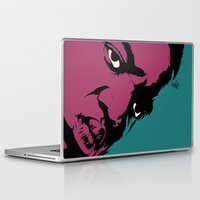 notorious Laptop & iPad Skins featuring Notorious by Vee Ladwa