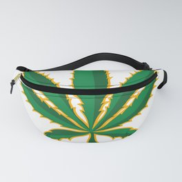 4:20 PM Marijuana Leaf Fanny Pack