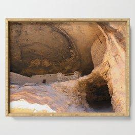 Ancient Pueblo - Gila Cliff Dwellings Serving Tray