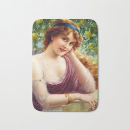 Goddess of Summer Bath Mat