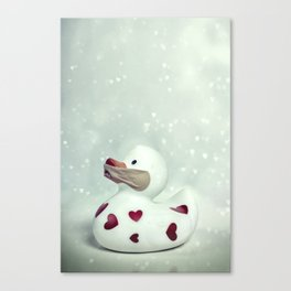 rubber duck Canvas Print