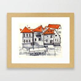 Czech Out Framed Art Print