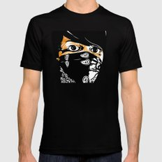 Bandit Black MEDIUM Mens Fitted Tee