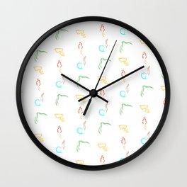 Energy of Monster - Full Print Wall Clock