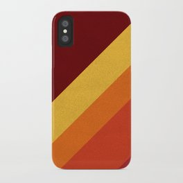 Retro 70s Color Palette II iPhone Case