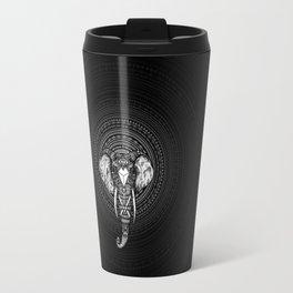 Aztec Circle Elephant Travel Mug
