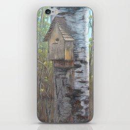 Birch House iPhone Skin