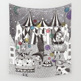 Night Carnival Wall Tapestry
