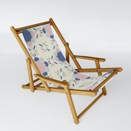 Pastel Tile Sling Chair