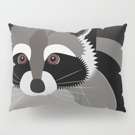 Raccoon in the Night Pillow Sham