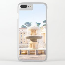 183. Peter's Fountain, Rome Clear iPhone Case
