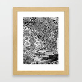 summer in the city Framed Art Print