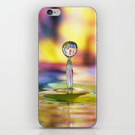 Colorful Splash iPhone Skin