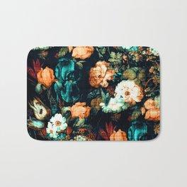 Vintage Floral Bath Mat