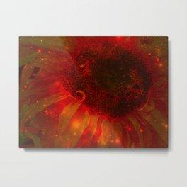 Spaceflower Metal Print
