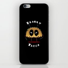 Deadly Tacos iPhone Skin