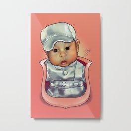 Y's Baby Crest Metal Print