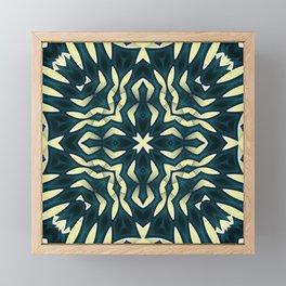 Tropical Tribal Framed Mini Art Print