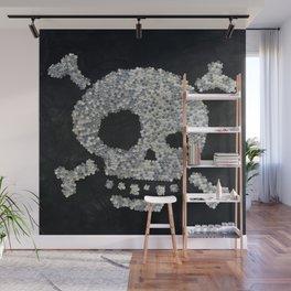 Confetti's skull Wall Mural