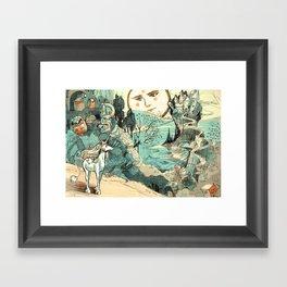 Last Unicorn Journey Framed Art Print
