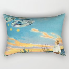 They were here before us Rectangular Pillow