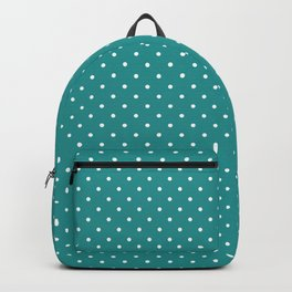 Dotted Turquoise Backpack