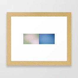 Water/Sky Framed Art Print