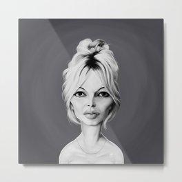 Brigitte Bardot Metal Print