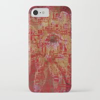 techno iPhone & iPod Cases featuring Techno Asian by DesignsByMarly
