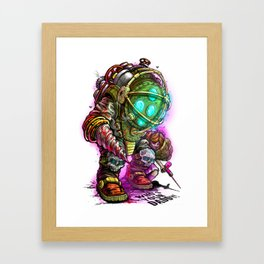 Who's Your Daddy Framed Art Print