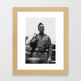 American Soldier Framed Art Print