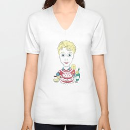 Please Like Me Unisex V-Neck