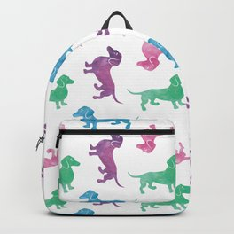 Raining Dachshunds Backpack