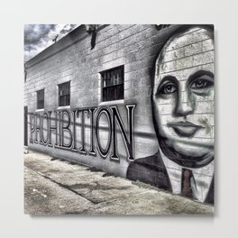 Prohibition Metal Print