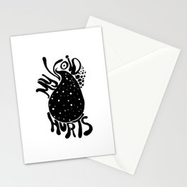 My Void Hurts Stationery Cards