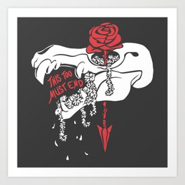 This Too Must End Art Print