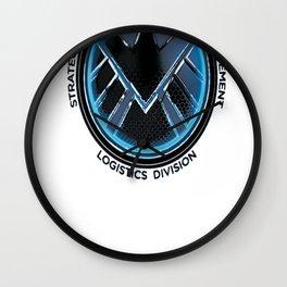 S.H.I.E.L.D Logistics Logo Graphic T-Shirt Wall Clock