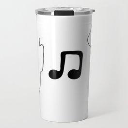 Music To My Ears Travel Mug