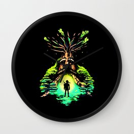 magic tree Wall Clock