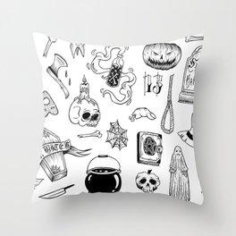 halloween flash Throw Pillow