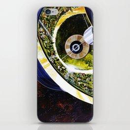 Cutaway View, Bernal Sphere iPhone Skin