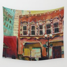 Old San Antonio Wall Tapestry